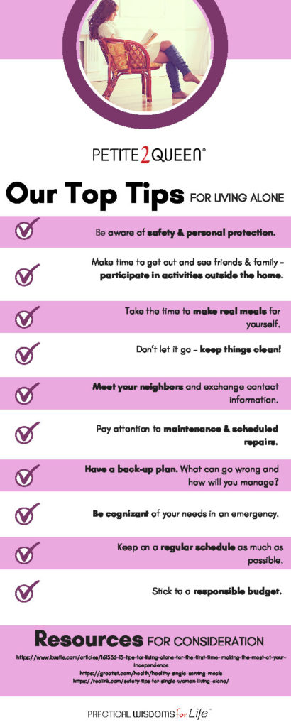 Safety Tips When Living Alone