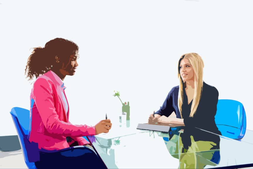 Interviewing While On Job
