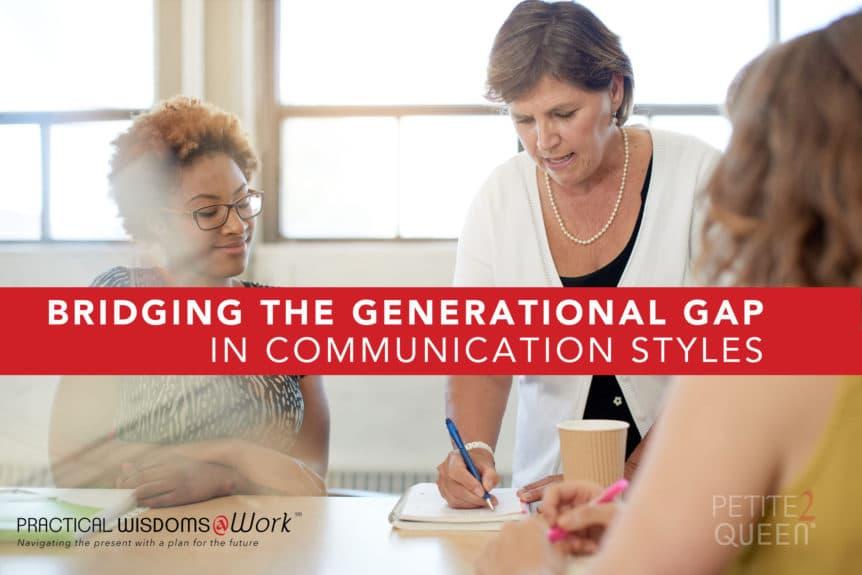 Bridging Generational Gap in Communication Styles