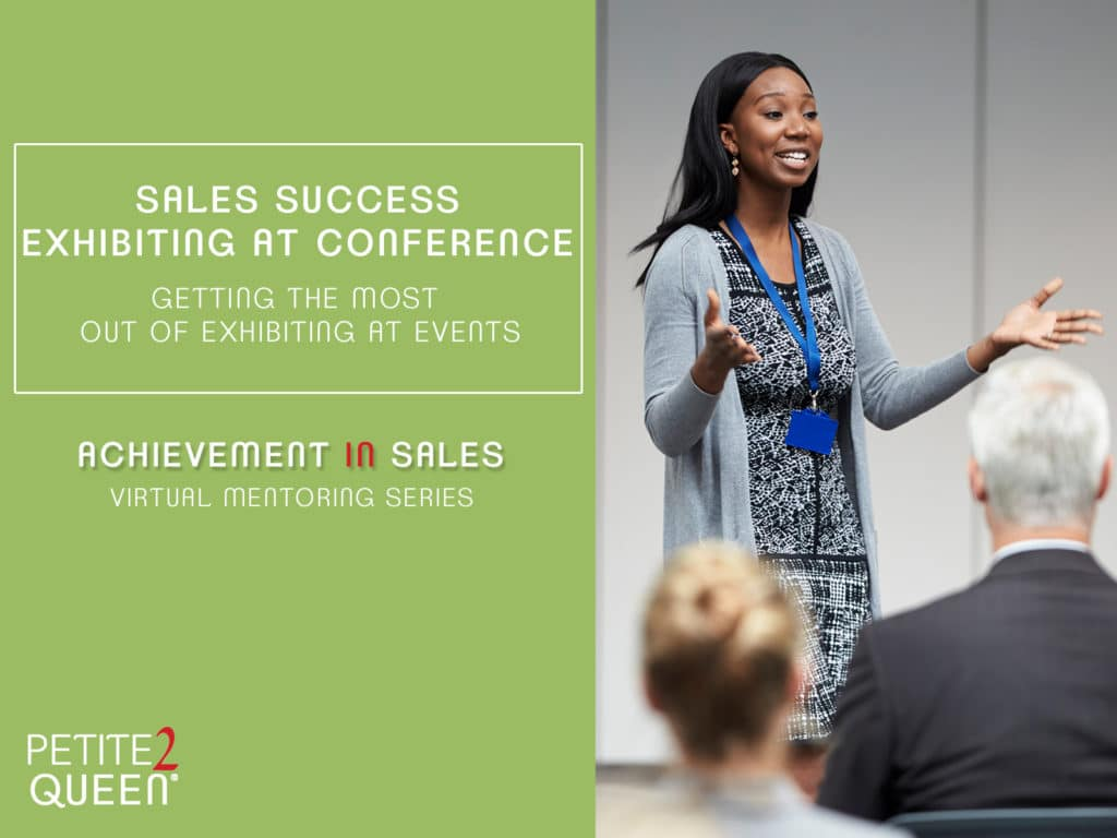 Sales Success Exhibiting at Conference Webinar