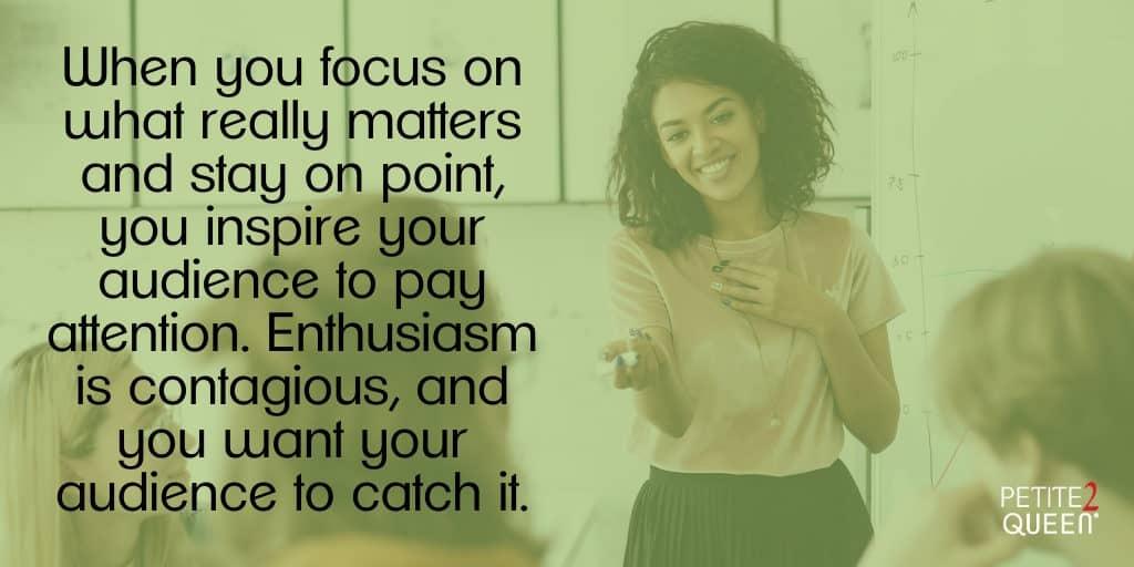 Blog - Presentation - Enthusiasm
