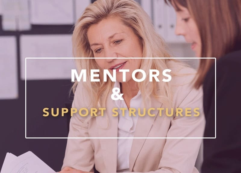 mentors support structures