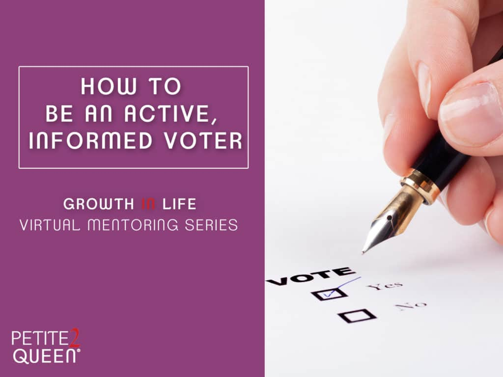 How to be an Active, Informed Voter