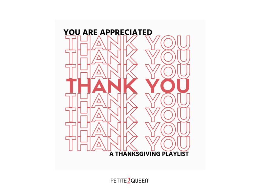 You Are Appreicated - A Special Thanksgiving Playlist