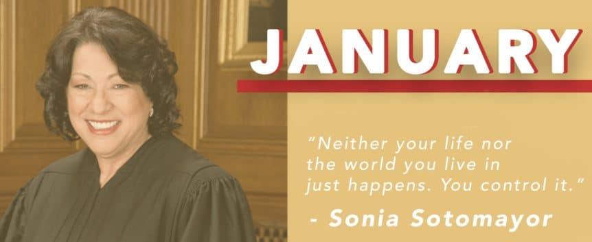 January 2019 Sonia Sotomayor