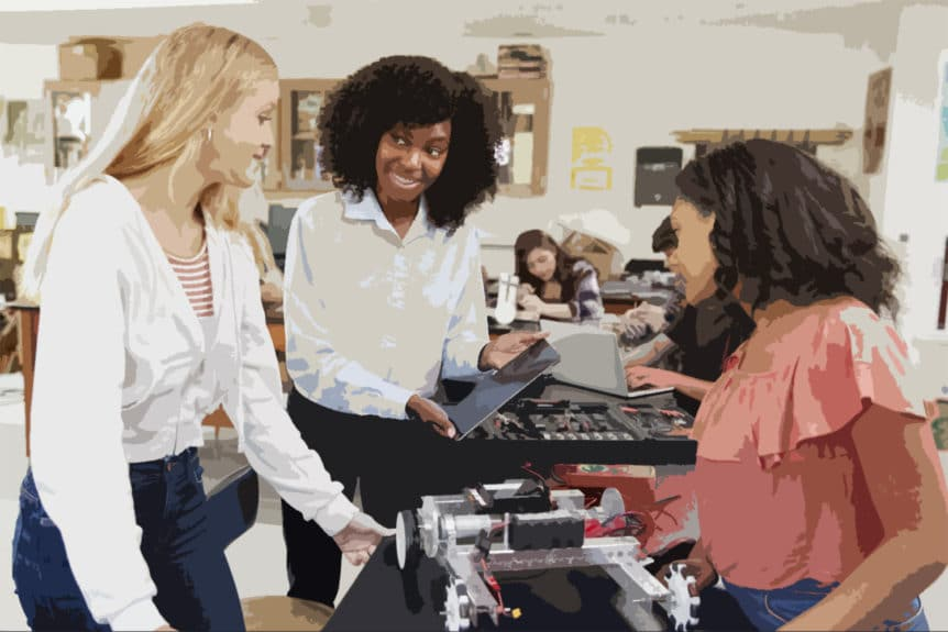 Women in STEM Do Peer Groups Perpetuate Gender Disparity