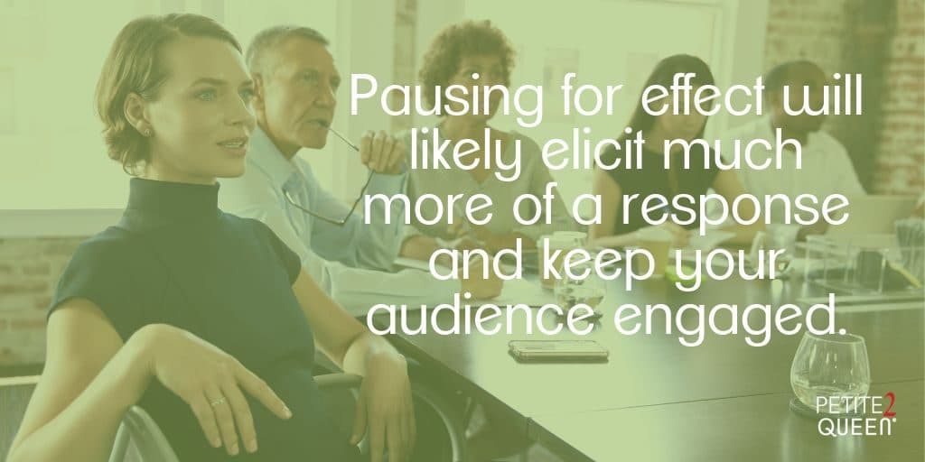 Pauses are Powerful: How to Hold Listeners' Attention