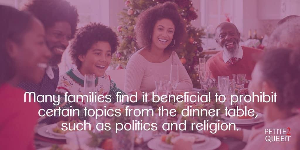 Blog - Yikes Bigotry - Dinner