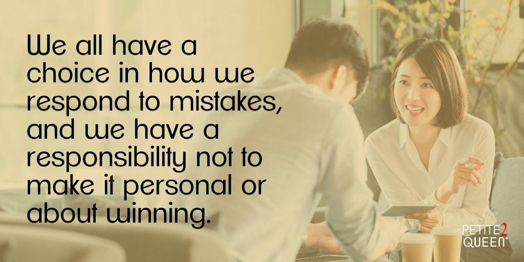 Ask Lynn - Handling Mistakes - Choice