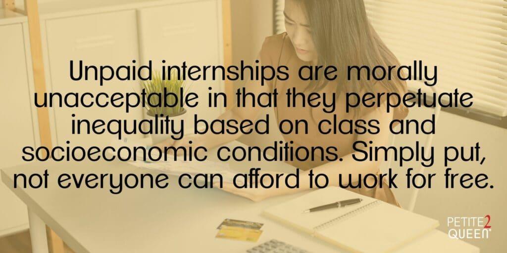 Blog - Unpaid Internships - Work for Free