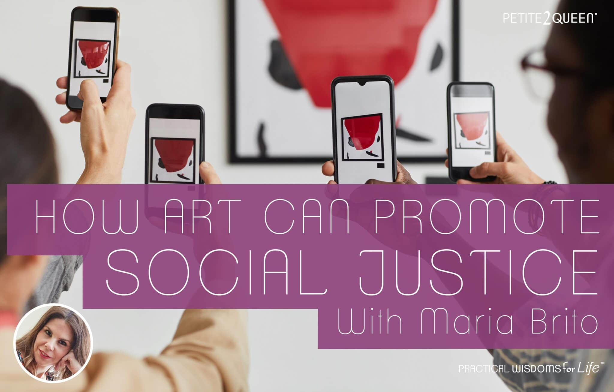 How Art Can Promote Social Justice - Maria Brito